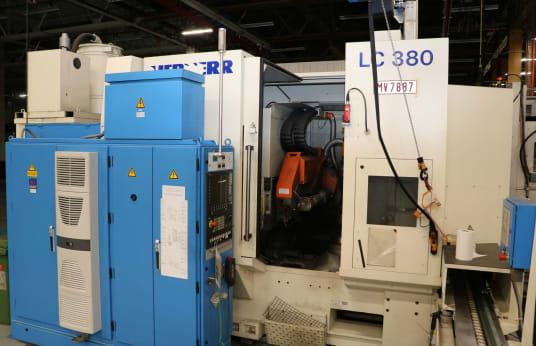 Mașină de frezat cu freză melc prin rulare LIEBHERR LC 380 CNC Gear