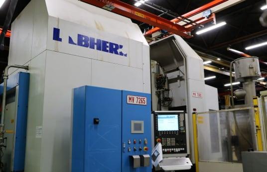 Azdırma Makinesi LIEBHERR LC 500 CNC Gear