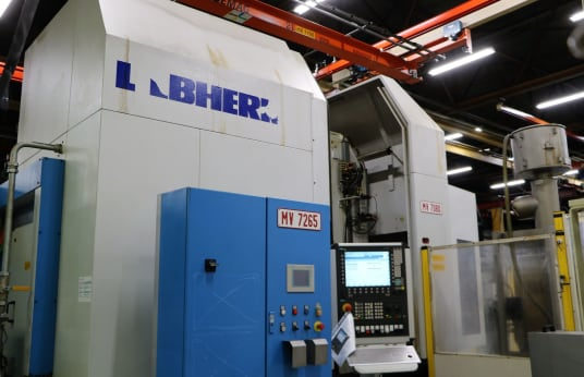 Dentatrice a creatore LIEBHERR LC 500 CNC Gear