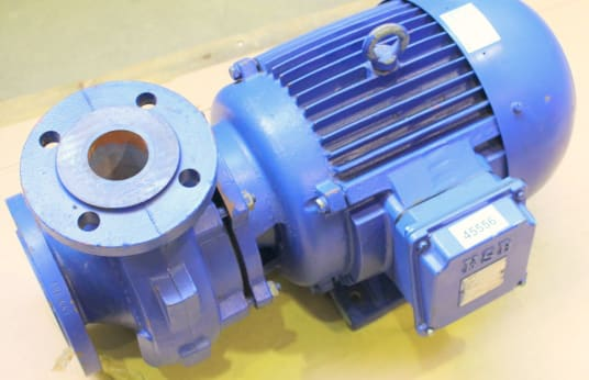 KSB 100mETABLOC G 50-125/552.2 G4 Block Pump