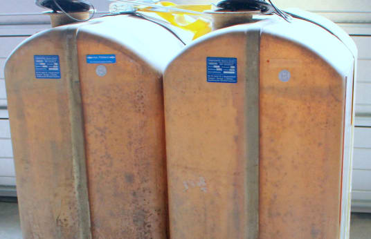 CHEMO 2x 402320 1000l1992 2x 1000l Heating Oil Tank