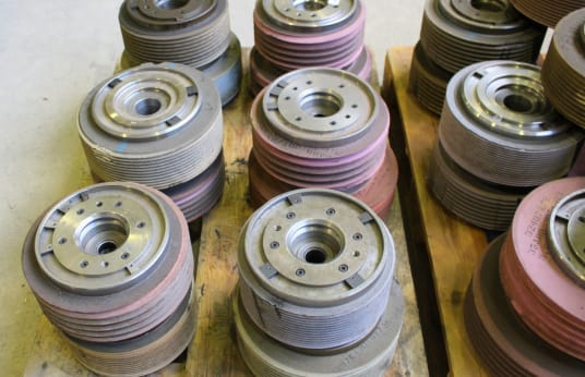REISHAUER 104 Grinding Disc Flange 10 pcs.