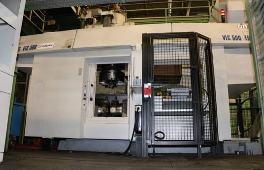 EMAG VLC 500 Navpična stružnica