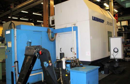 LIEBHERR LFS 600 CNC Gear Shaping Machine