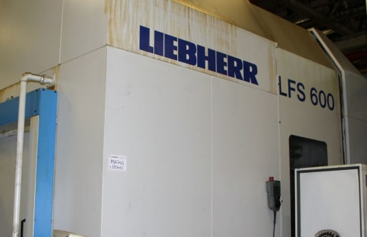 LIEBHERR LFS 600 CNC Gear Shaping Machine