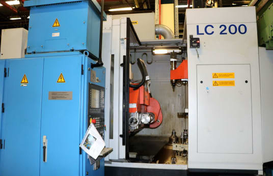 LIEBHERR LC200 CNC Tool Grinding Machine