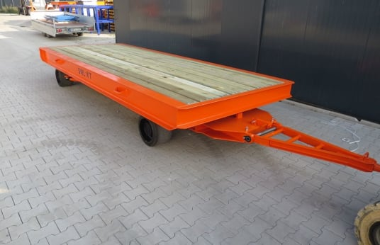 WMT 6,0 x 2,5 / 10t Heavy-duty trailer