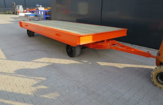 WMT 6,0 x 2,5 / 20t Heavy-duty trailer