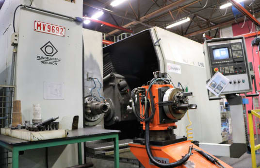 OERLIKON / KLINGELNBERG C60 CNC 6-Axis Gear Machining Center