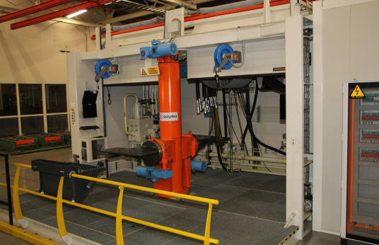 Estación de prueba hidráulica para válvulas TECHNIC ONE ENGINEERING