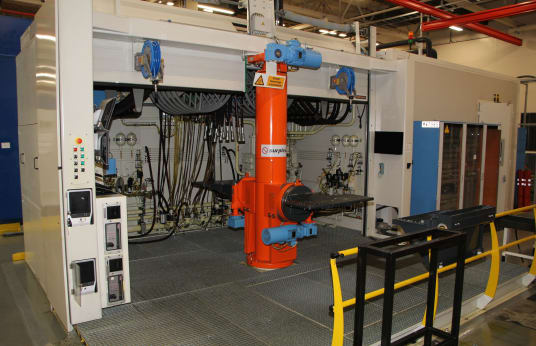 TECHNIC ONE ENGINEERING Hydraulic Test Station for Valves