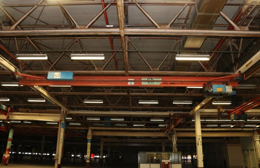 CLEVELAND TRAMRAIL INTERNATIONAL Single-Girder Bridge Crane 2,5t