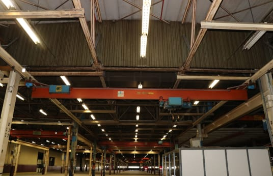 CLEVELAND TRAMRAIL INTERNATIONAL Single-Girder Bridge Crane 3,5t
