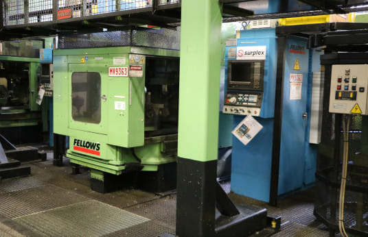 FELLOWS FS 630-200 CNC Gear Shaping Machine
