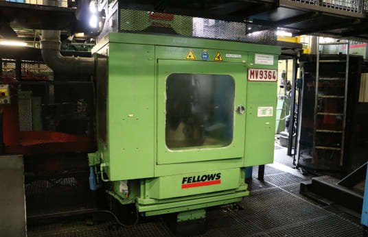 Mortaiseuse à tailler engrenages FELLOWS FS 630-200