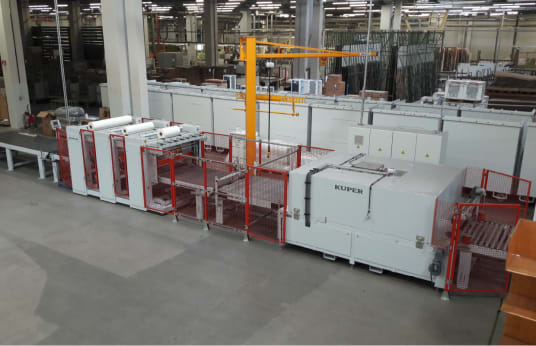 KUPER KFE 1600 Foil Shrink Machine