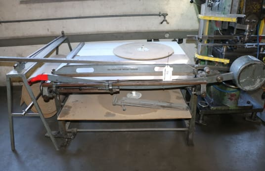 HUNKELER Manual Plate Shears