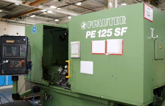 PFAUTER PE 125 SF CNC-Worm Milling Machine
