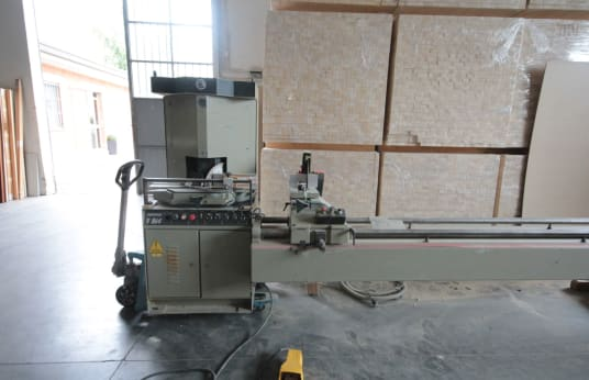 OMGA V 314 Duble cut cross saw