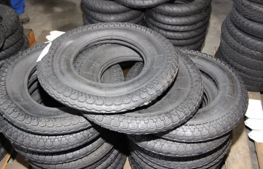 SAVA 400-10 Lot of Tires (100)