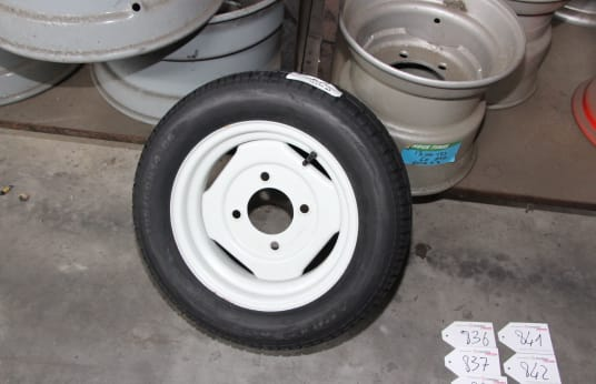 195/60R14- Lot of Complete Wheels (4)