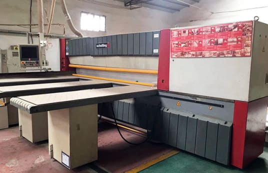 SCHELLING FH6 330 BEAM PANEL SAW WITH AUTOMATIC LOADING