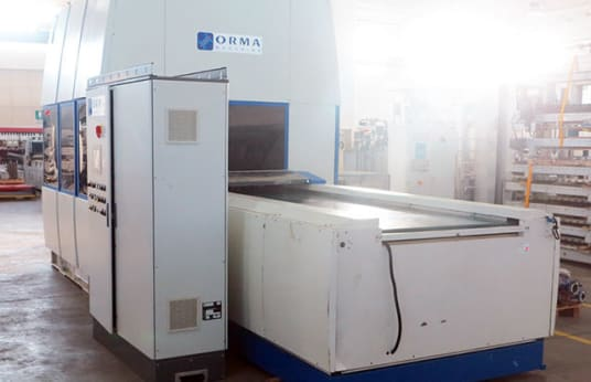 ORMA NEW MASTER 25/13 THROUGH FEED PRESS