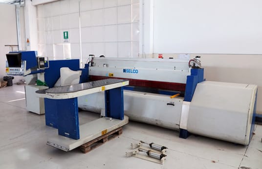 SELCO EBT 110 BEAM PANEL SAW WITH AUTOMATIC LOADING