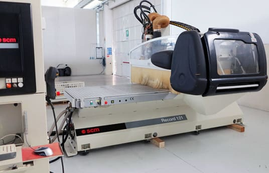 SCM RECORD 121 CNC Router with NESTING Table