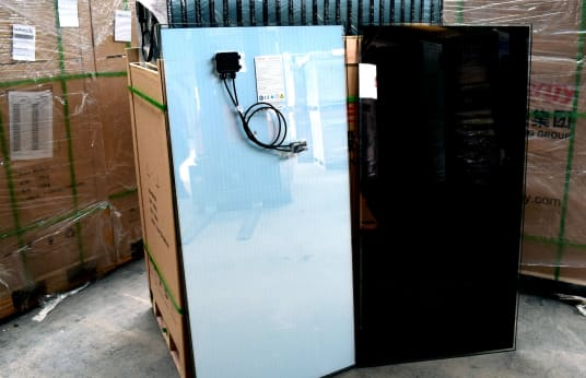 HANERGY APOLLO SOLARMODULE HNS-ST55/60 / SMA SMC 7000HV 90 KW Solar Packet - Hanergy solar modules / SMA transformer inverter