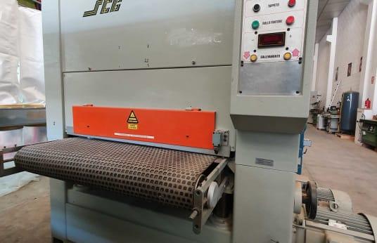 Geniş Kayışlı Kumlama Makinesi SCB CL2NT 1100