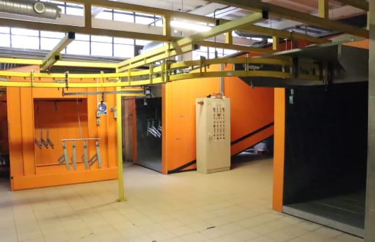 SPEAT Painting Line / Powder Coating System
