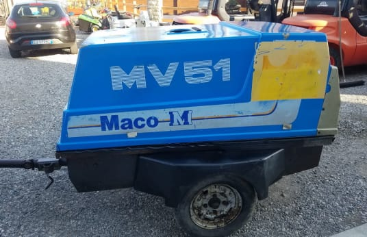 MACO MV51 Site kompresor