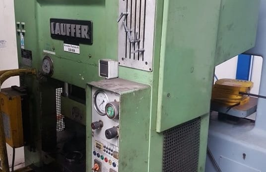 LAUFFER RPT 63 Single Column Press - hydraulical