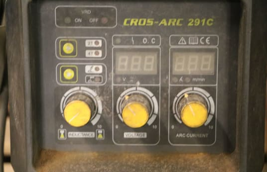 CROS-ARC 291 C MIG Welder
