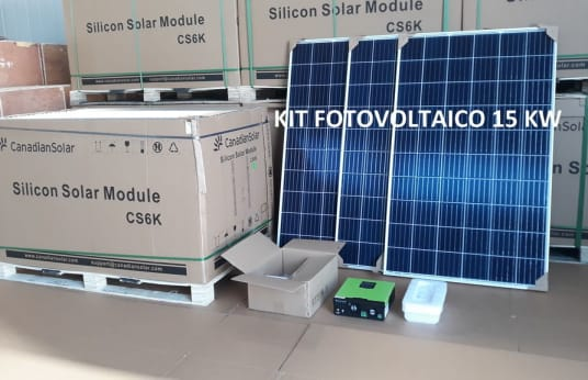 SOLAR Photovoltaic System 15 KW A++ class