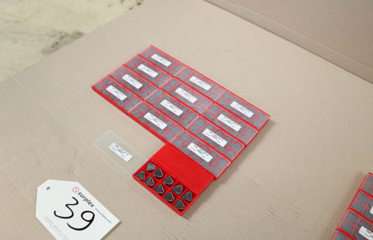 Lot of Indexable Inserts