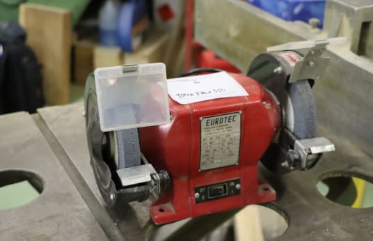EUROTEC Double-Wheeled Bench Grinder