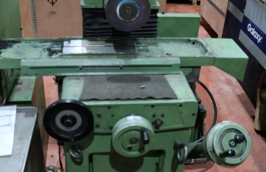 MONOPRECIS 114 SHE Flat grinding machine with tangential grinding wheel and rectangular table