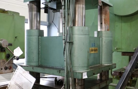 INTER-HYDRO D 2107 Hydraulic press with arcades and columns