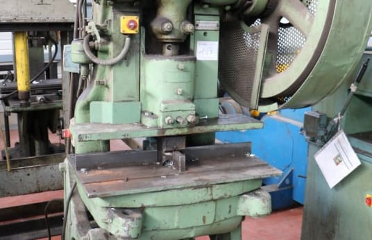 CLAVETTES Mechanical gooseneck press