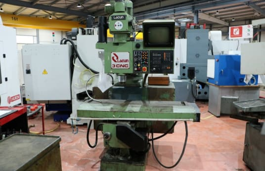 LAGUN CNC 3 Universal milling machine with numerical control