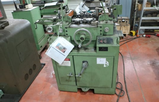 GAUER 9 H 10 Edge chamfering machine by rolling