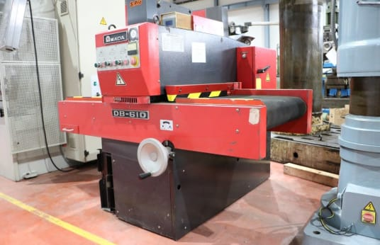 AMADA DB 610 Sheet metal deburring machine