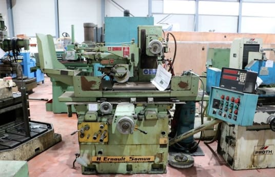 ERNAULT SOMUA FL 500 Flachschleifmaschine mit Tangential-Schleifscheibe und Rechteckigem Tisch