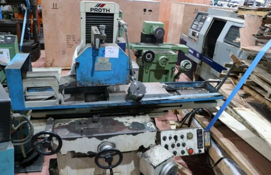 PROTH Flat grinding machine with tangential grinding wheel and rectangular table