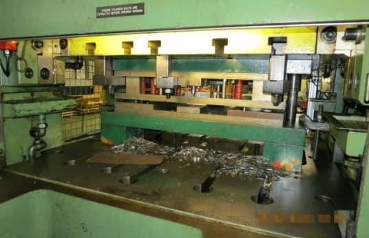 SCHULER A2-125 Double sided High speed Blanking Press