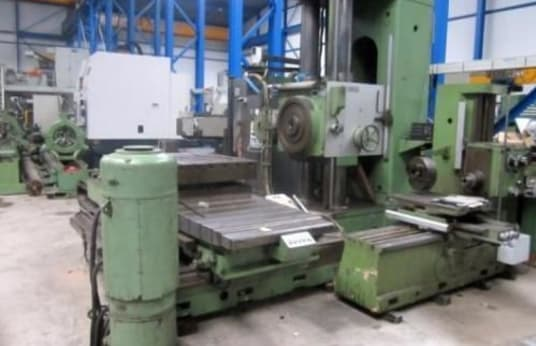 SCHARMANN FB 100 Opticut Table type boring mill