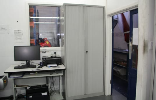 BISLEY Workshop Cabinet with Contents
