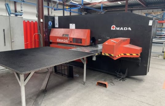 AMADA Europe 245 TURRET PUNCHING MACHINE PUNCH AUTOMATIC CNC